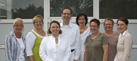 Praxisteam der Landarztpraxis Dr. med. H. Zarnack & Dr. med. M. Schaper